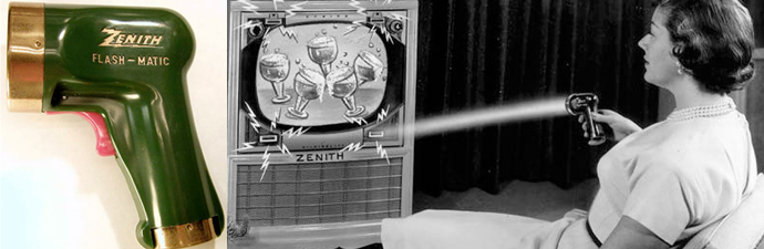 Original Zenith TV Remote of 1955